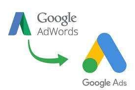 интерфейс на Google Ads