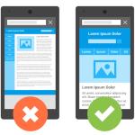 Мобилна версия на сайт, респонсив дизайн