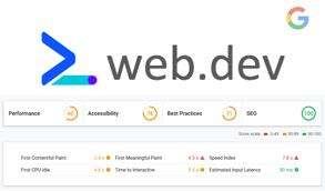 web.dev Официален инструмент за Google за анализ на сайт