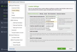 WebSite Auditor анализ