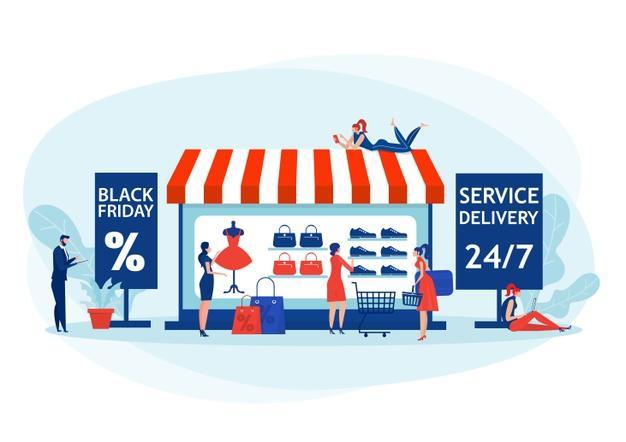 online shop black friday
