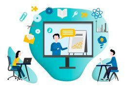 SEO and building a website for online training